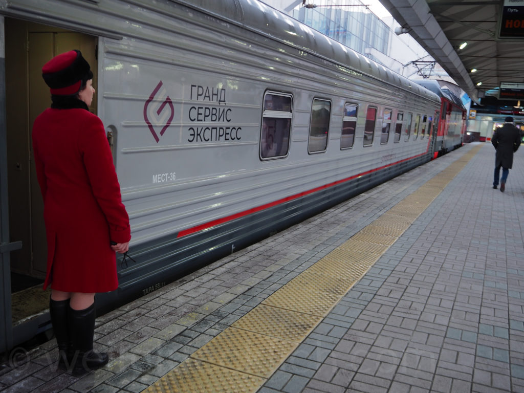 Nachtzug St Petersburg Moskau Grand Express