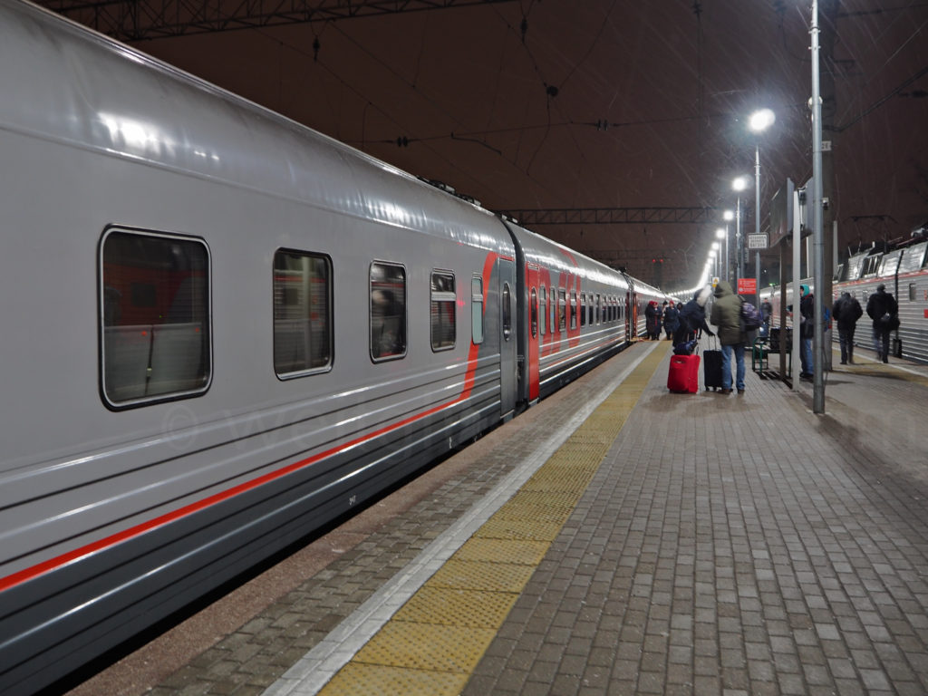 Transsibirische Eisenbahn Transsib Moskau Jaroslawler Bahnhof Moskau