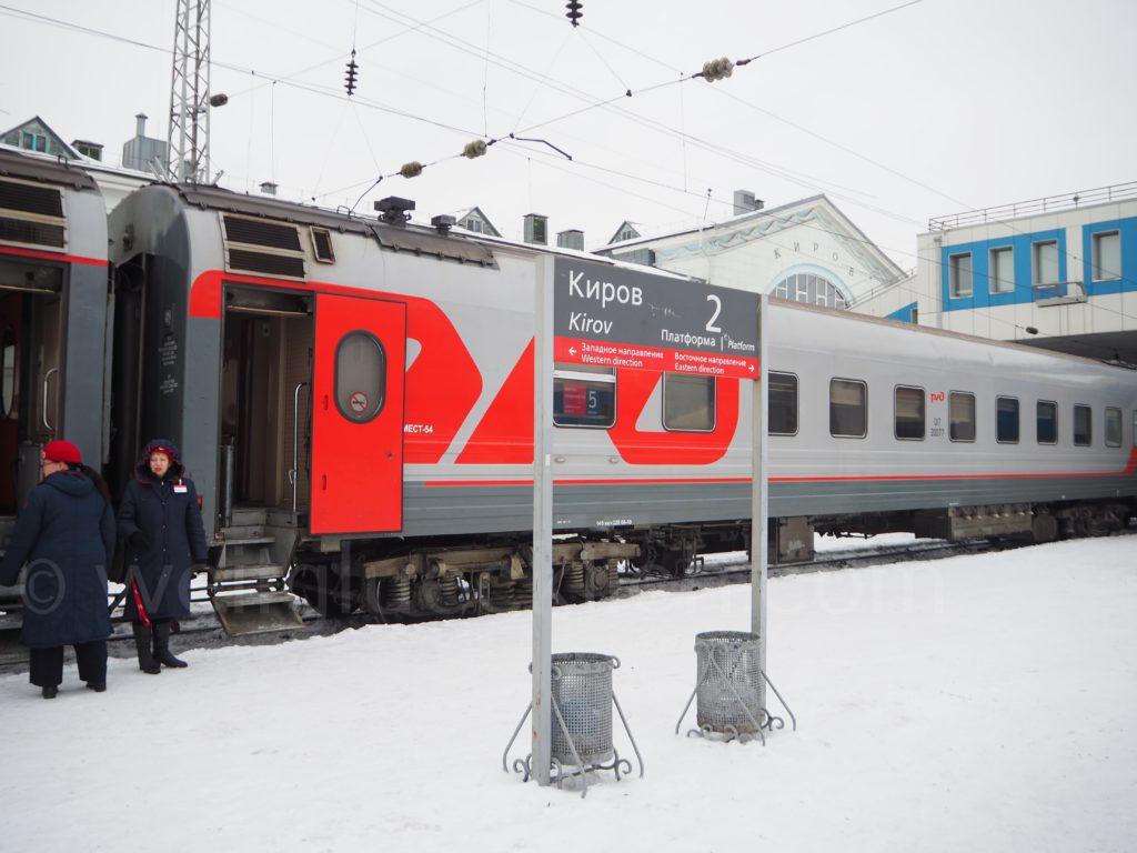 Transsibirische Eisenbahn Transsib Kirow Russland