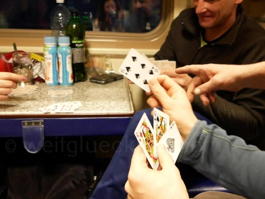 Transsibirische Eisenbahn Transsib Durak Kartenspiel Russland