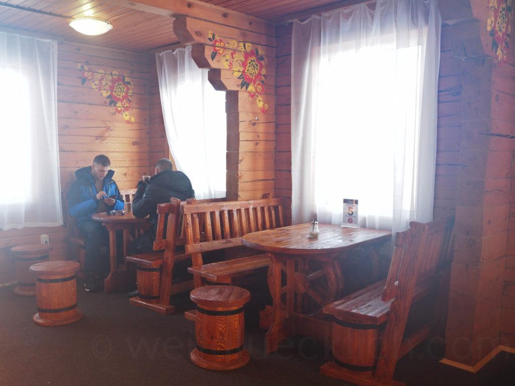 Listwjanka Baikalsee Skigebiet Cafe