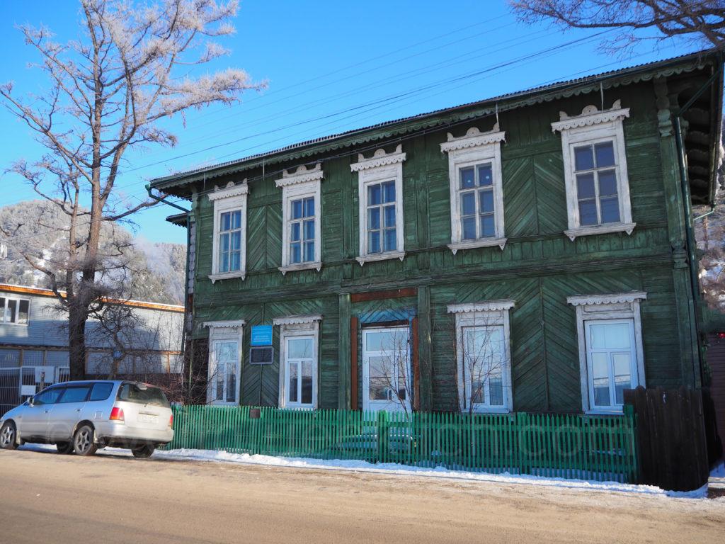Listwjanka Baikalsee Holzhaus Ufer