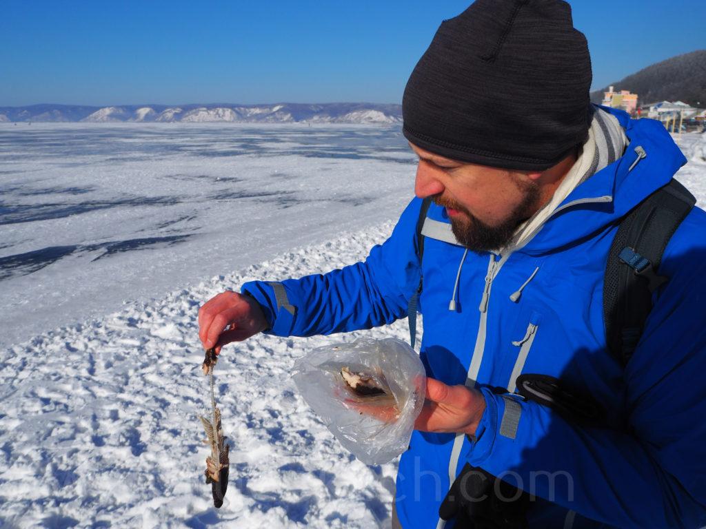 Listwjanka Baikalsee Omul Winter