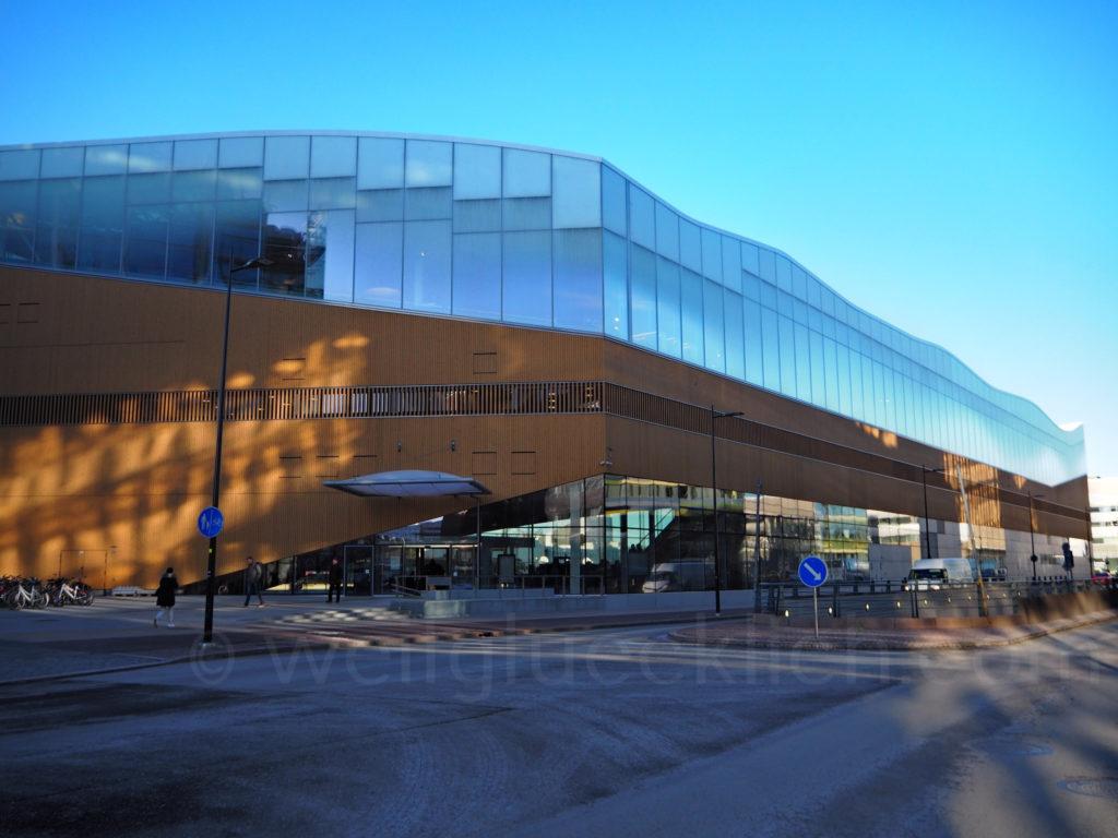 Helsinki Zentral Bibliothek Oodi aussen