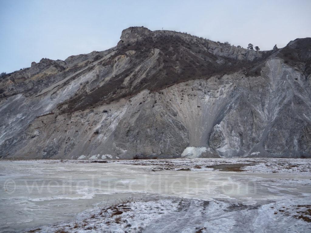 Bagdarin Burjatien Sibirien weisser Berg