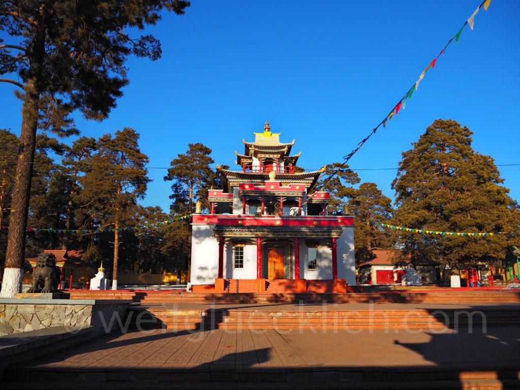 Tschita Transbaikalien buddhistischer Tempel