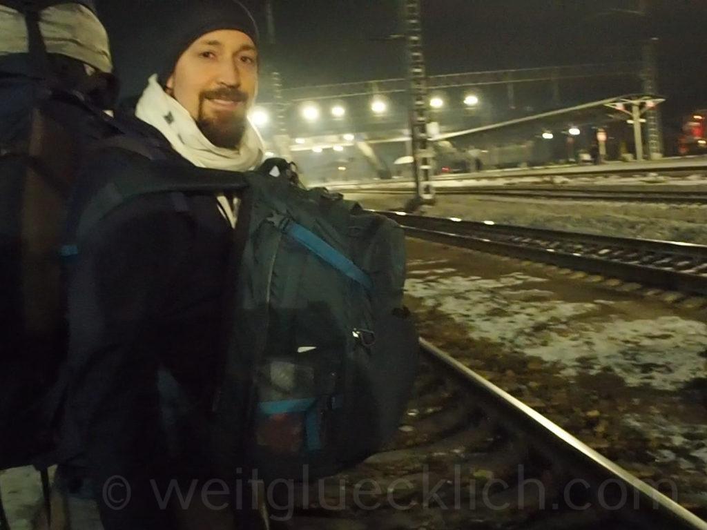 Tschita Bahnhof Transsib Transsibirische Eisenbahn
