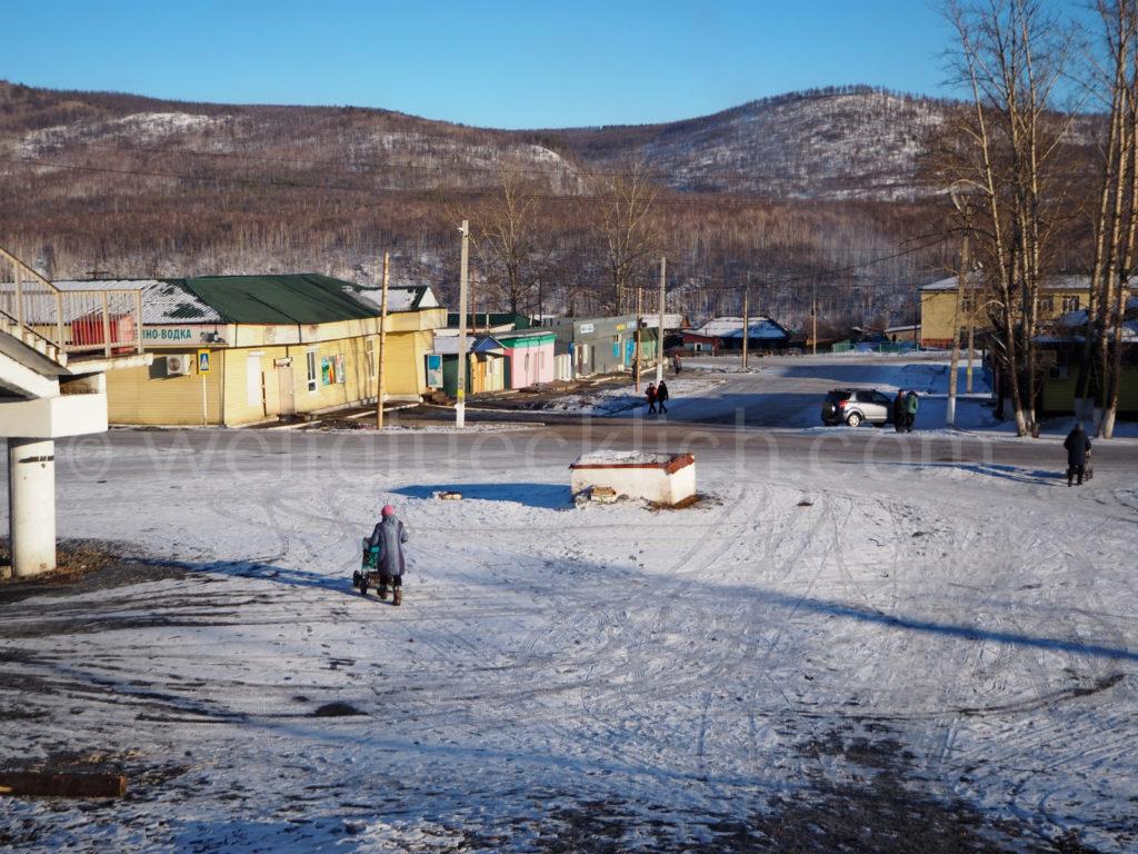 Weltreise 2020 Transsib Transsibirische Eisenbahn Sibirien Winter Amasar