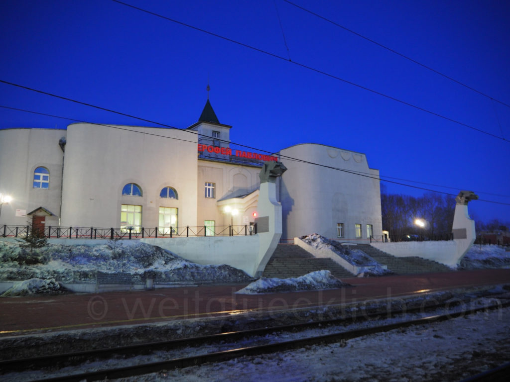 Transsib Transsibirische Eisenbahn Sibirien Jerofei Pawlowitsch