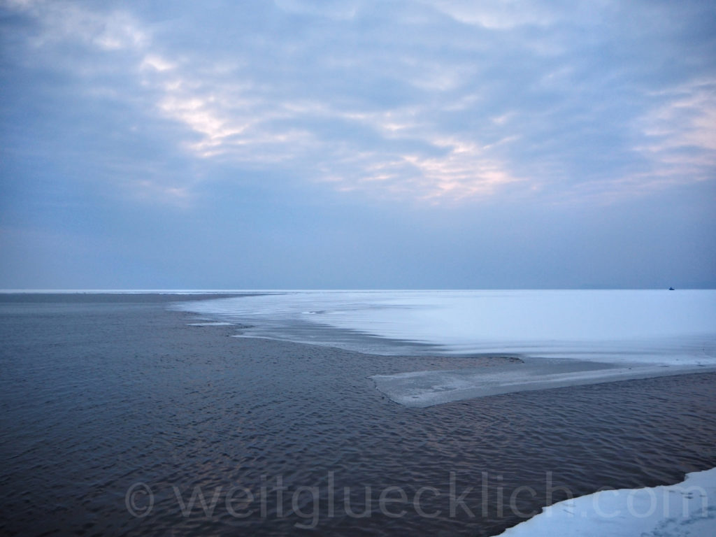 Russland Wladiwostok Tokarevskaya  Winter Pazifikzugefroren
