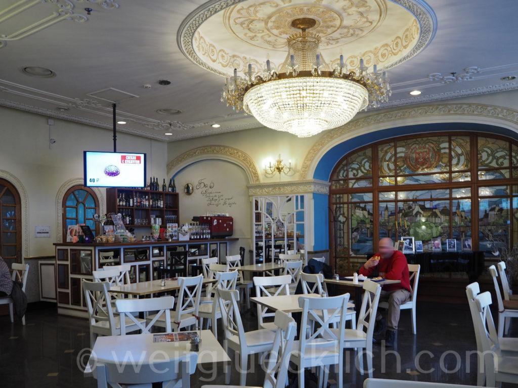 Russland Wladiwostok russisches Restaurant Stolovaya Ne Ryday