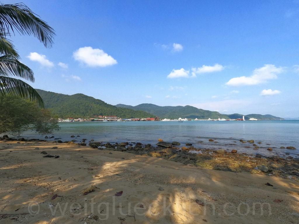 Thailand Koh Chang Bang Bao Pier Cliff Cottage