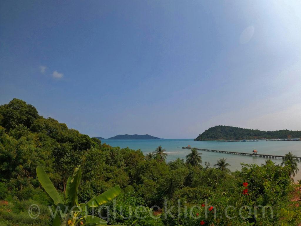 Thailand Koh Chang Bang Bao Bucht bay view point