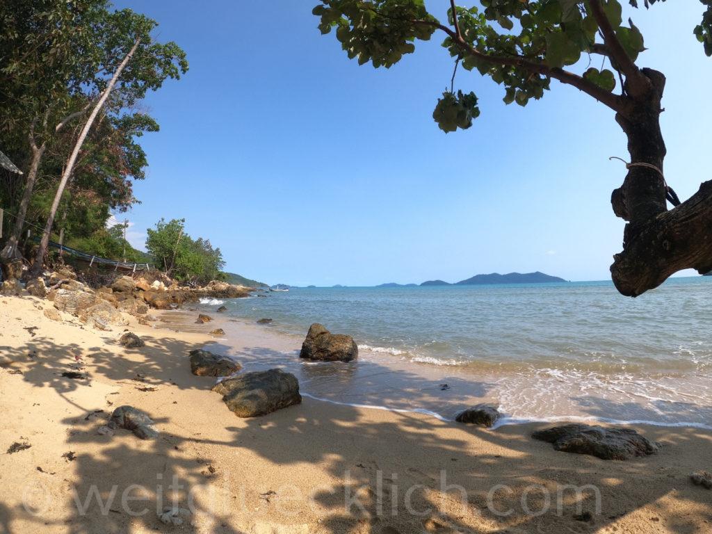 Thailand Koh Chang Bang Bao Beach Sandbucht Sai Noi