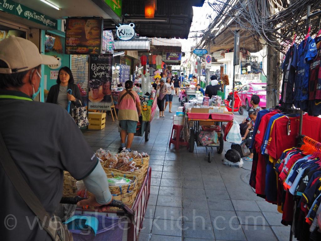 Thailand Bangkok Bang Kapi Ramkhamhaeng Markt