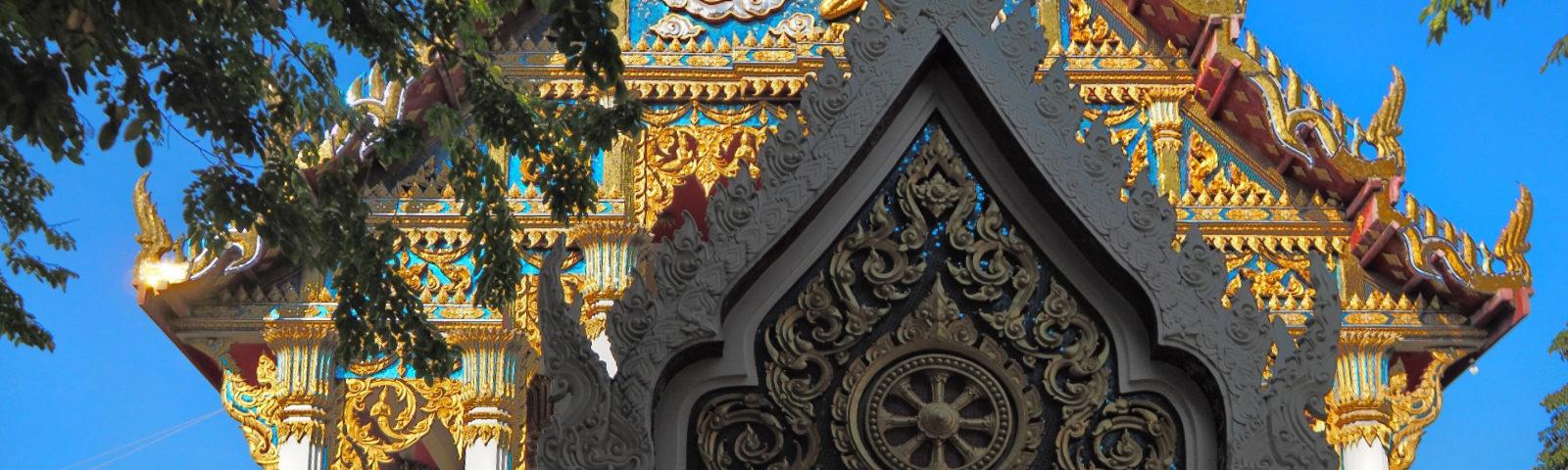 Thailand Bangkok Wat Phra Kraisi Tempel