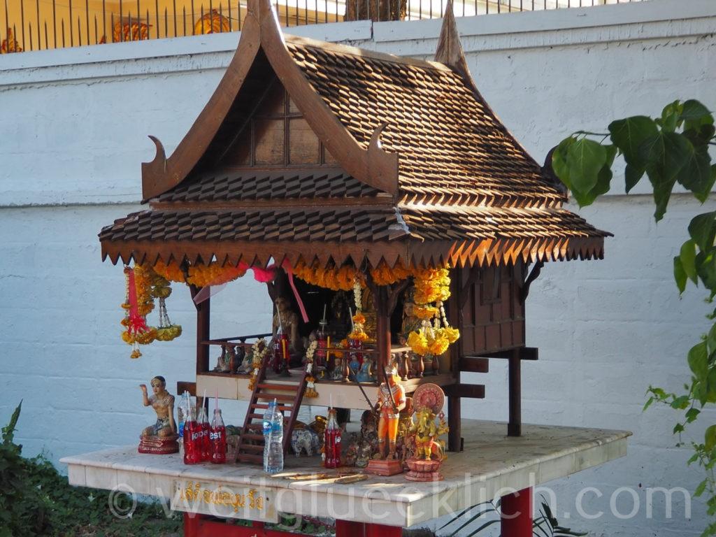 Thailand Bangkok Bang Kapi Geisterhaus