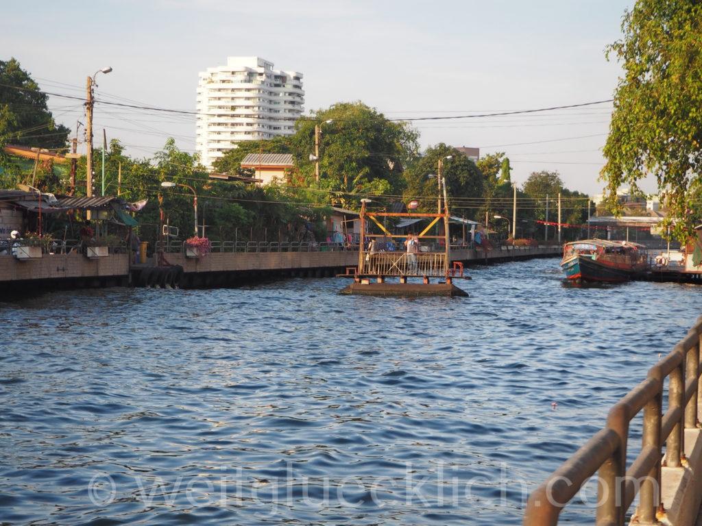 Thailand Bangkok Bang Kapi Kanal Khlong