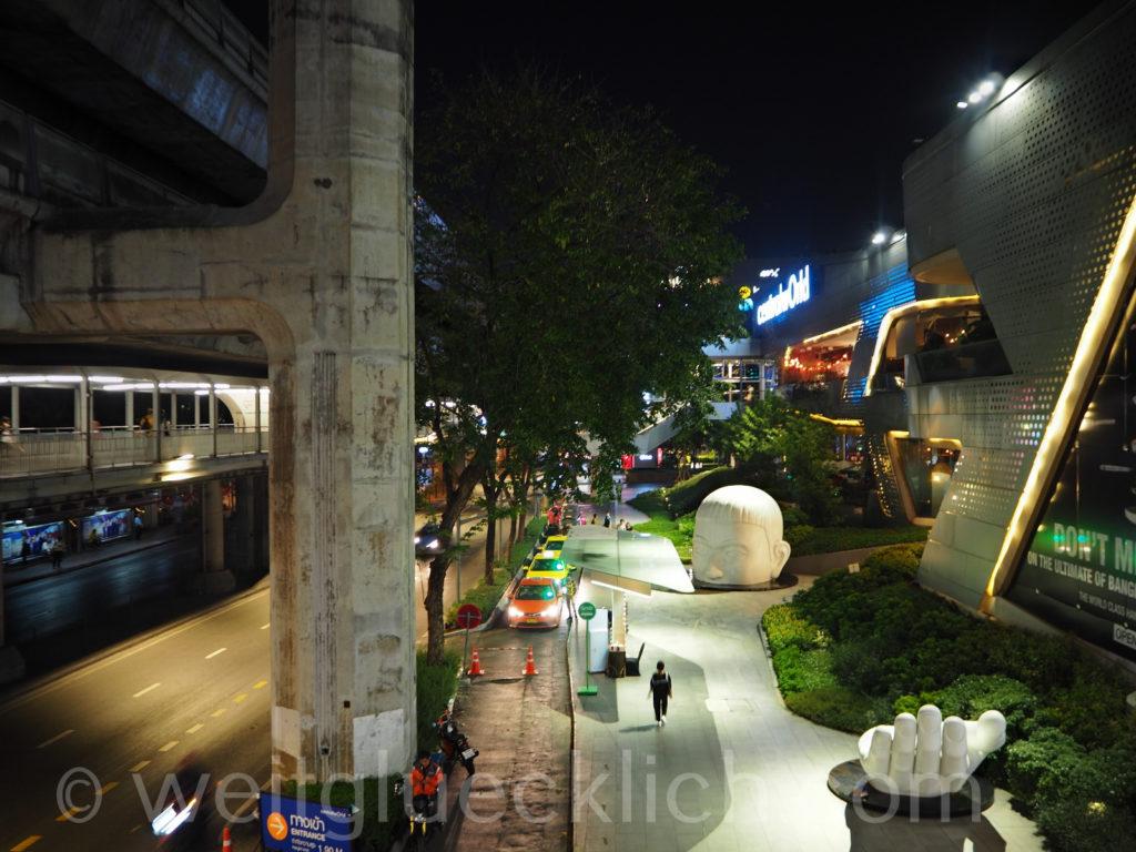 Thailand Bangkok shopping mall central world rama I rd