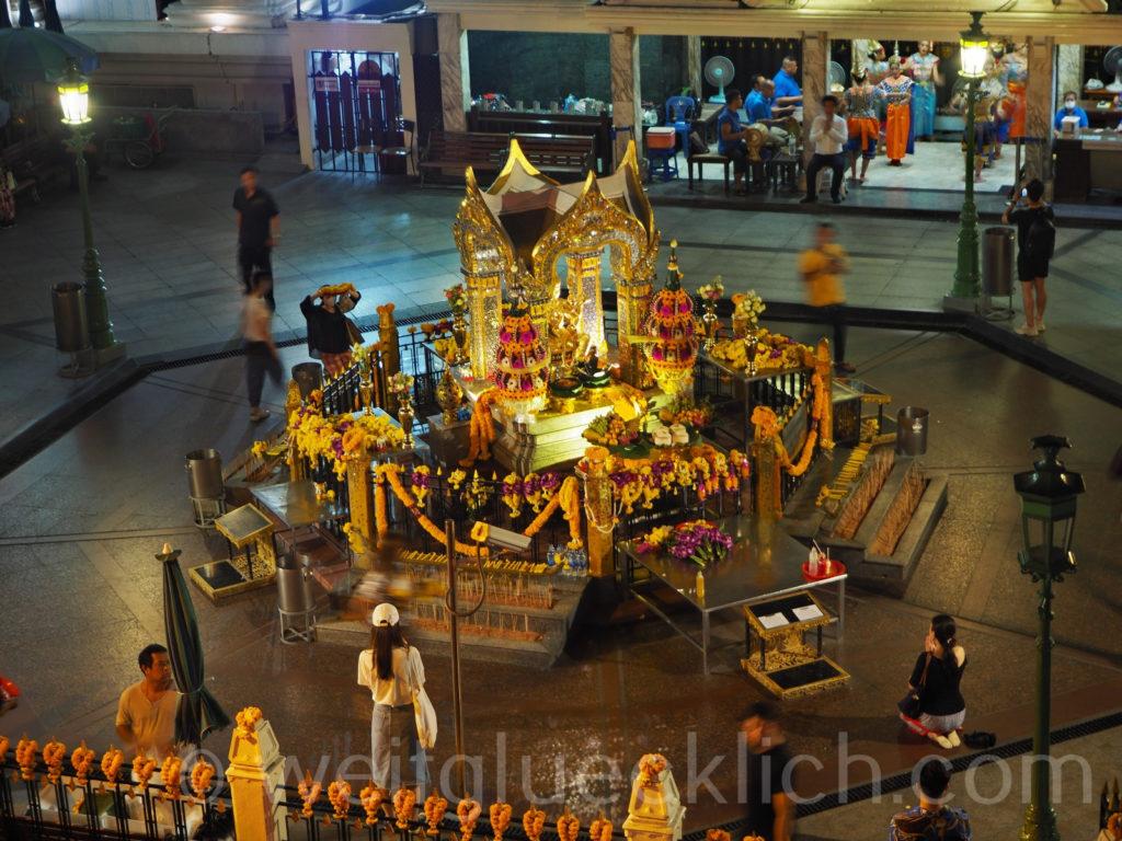 Thailand Bangkok Erawan Schrein Shrine Rama I Rd Centralworld