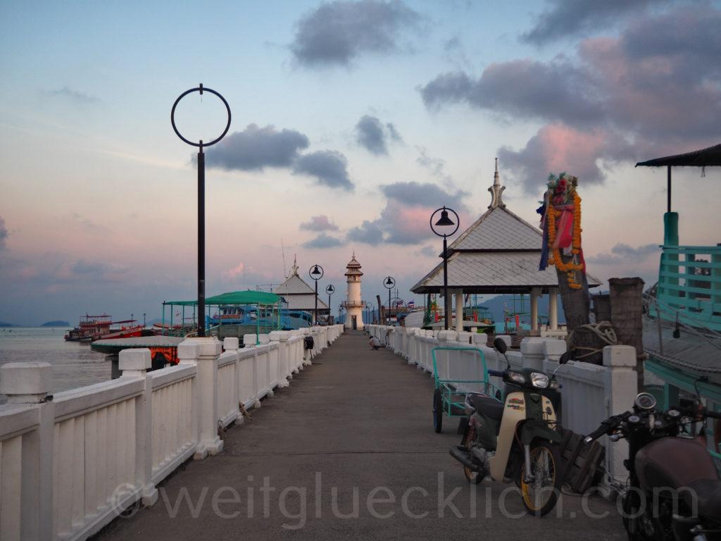 Thailand Koh Chang Bang Bao Pier Leuchtturm lighthouse