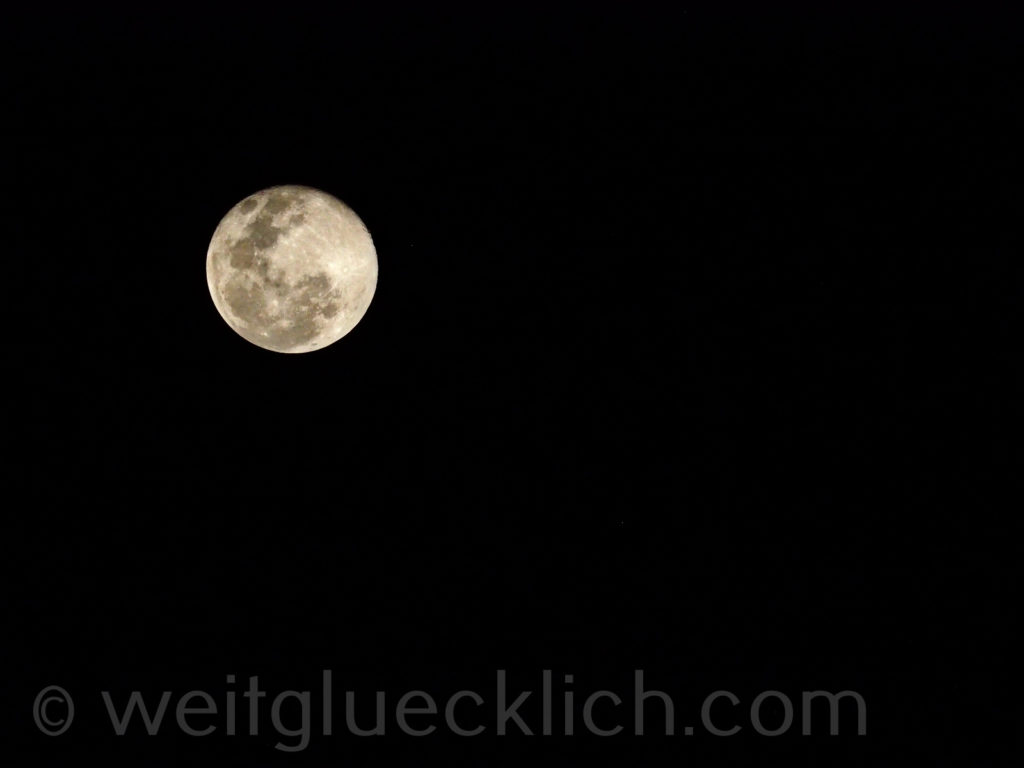 Thailand Koh Chang Bang Bao Pier Vollmond full moon