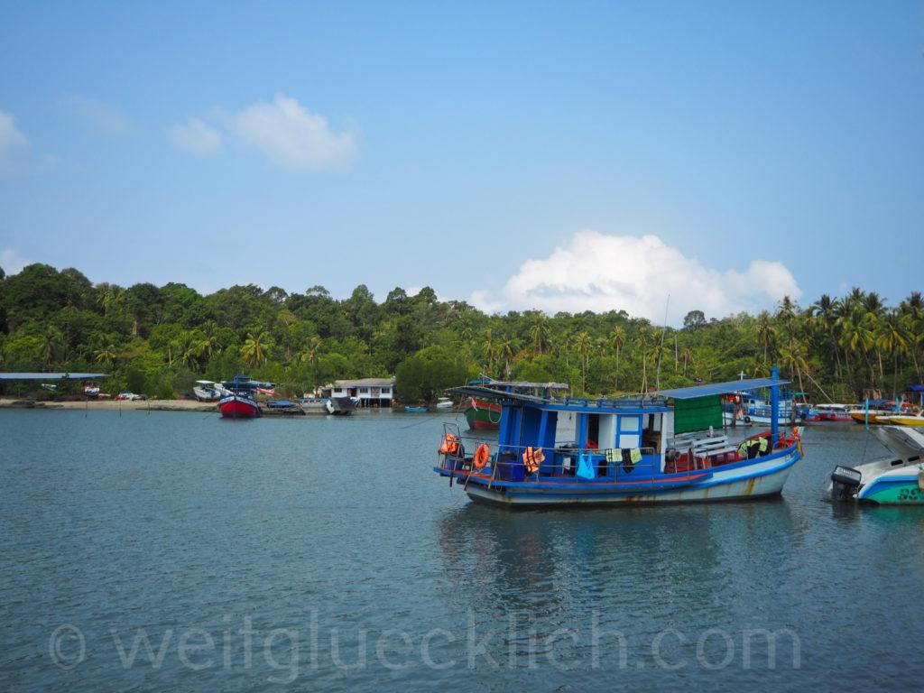 Thailand Koh Chang Bang Bao Bucht