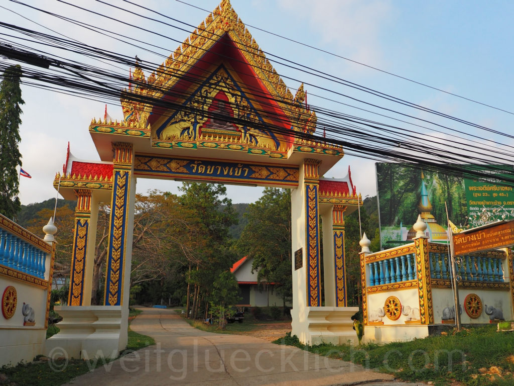Thailand Koh Chang Bang Bao buddhistischer Tempel
