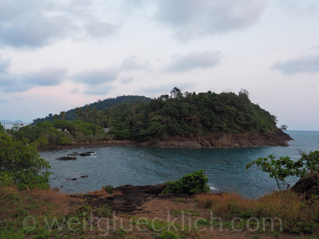 Thailand Koh Chang Cliff Cottage Bucht bay