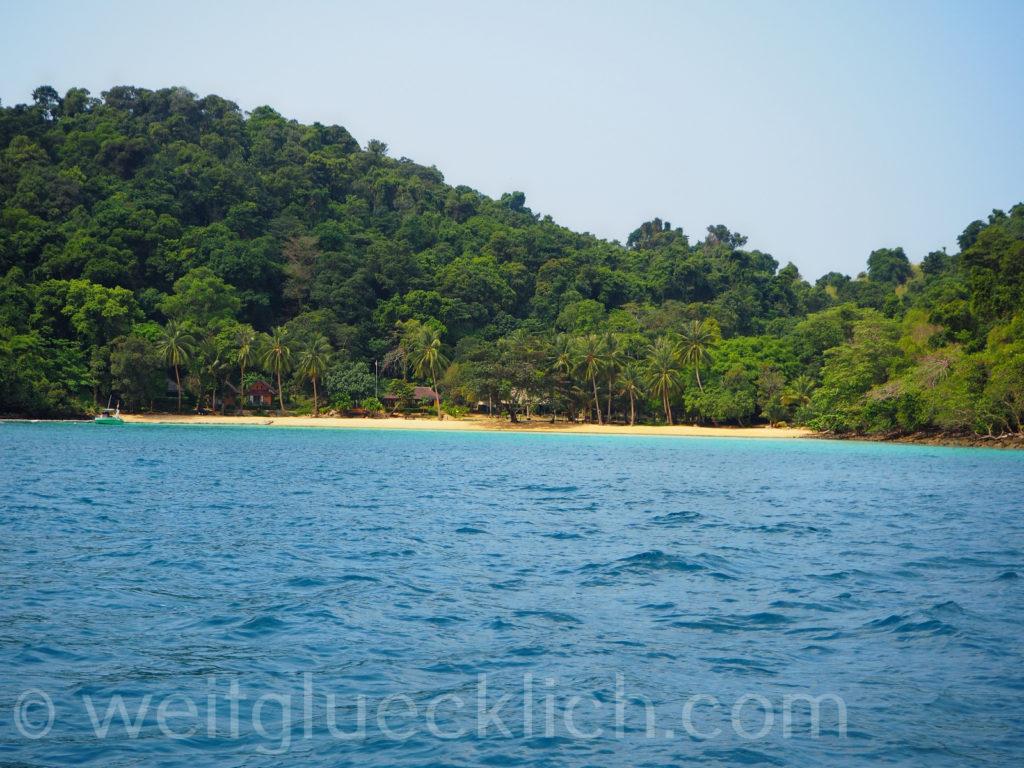 Thailand Koh Chang Golf von Thailand Mu Koh Chang Nationalpark