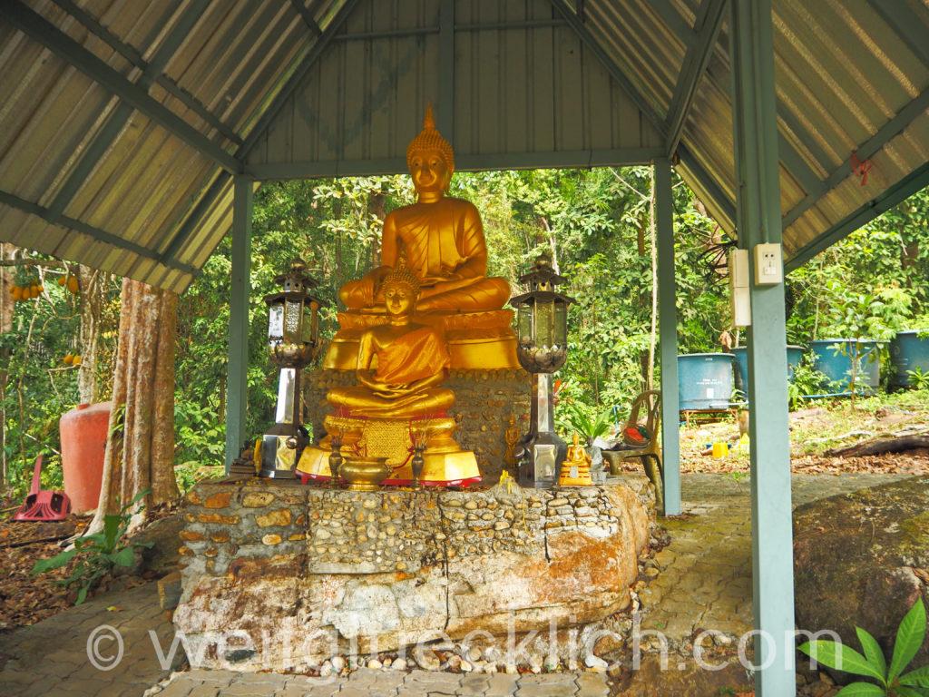 Thailand Koh Chang Wat Bang Bao Tempel