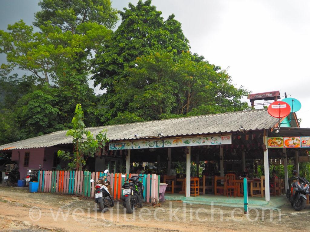 Thailand Koh Chang Bang Bao Restaurant