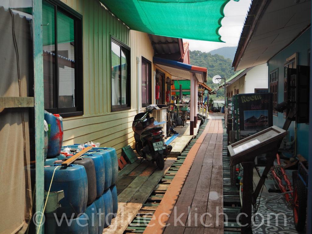 Thailand Koh Chang Bang Bao Pier