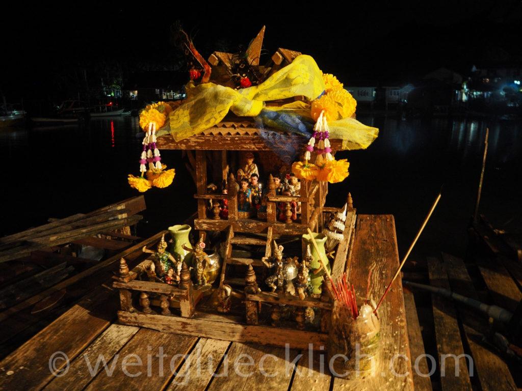 Thailand Koh Chang Bang Bao Geisterhaus
