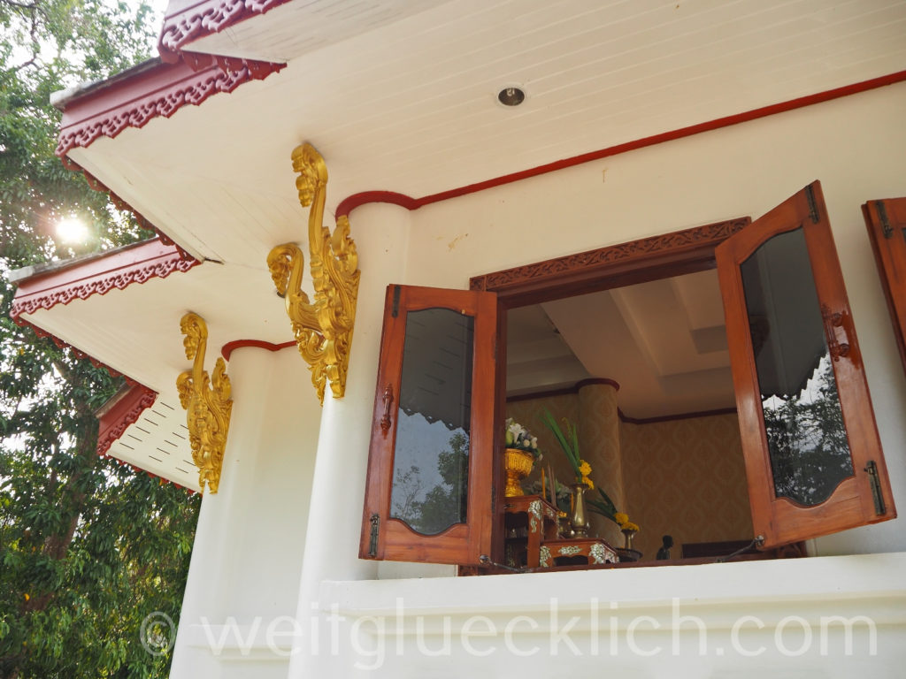 Thailand Koh Chang Admiral Krom Luang Jumborn Khet Udomsaki - Schrein shrine