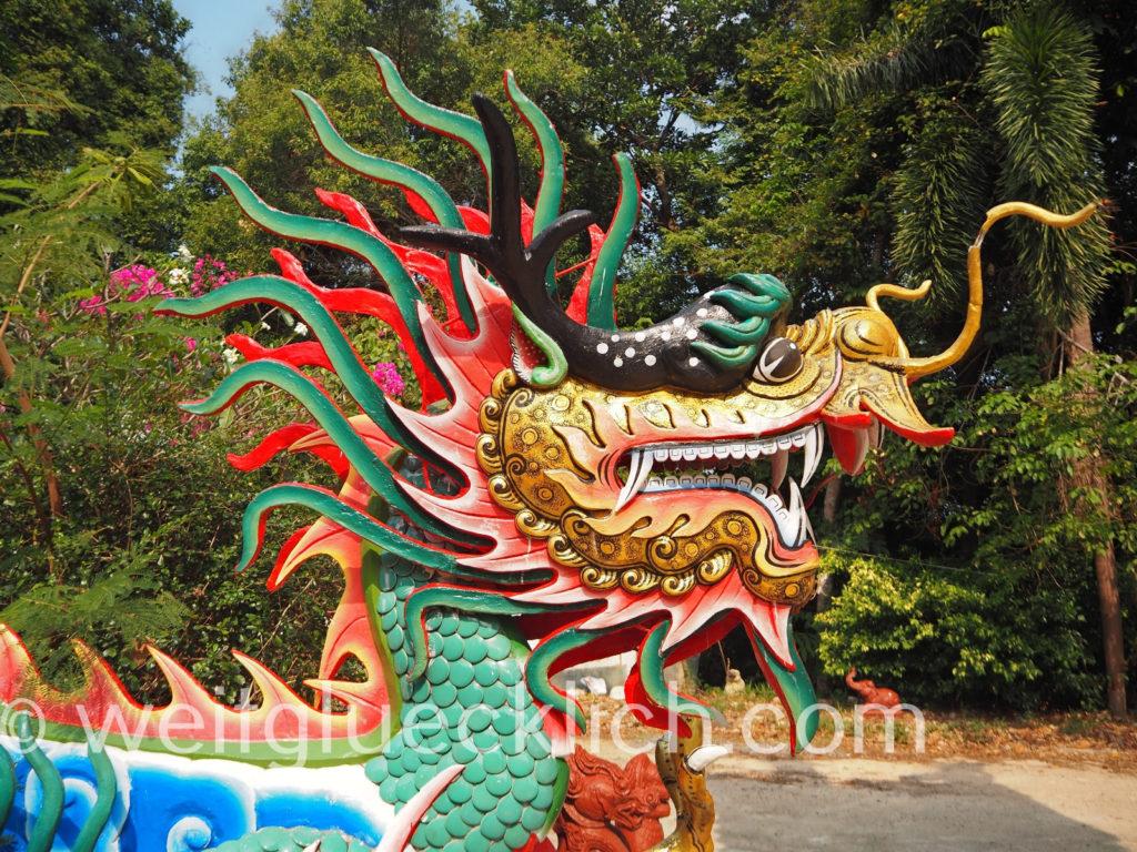 Thailand Koh Chang Khlong Son Chao Por Schrein shrine