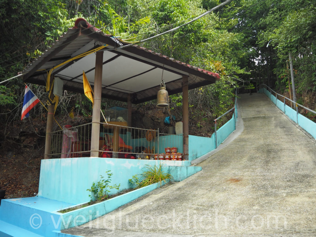 Weltreise Thailand Koh Chang Salak Phet Salak Plom Tempel