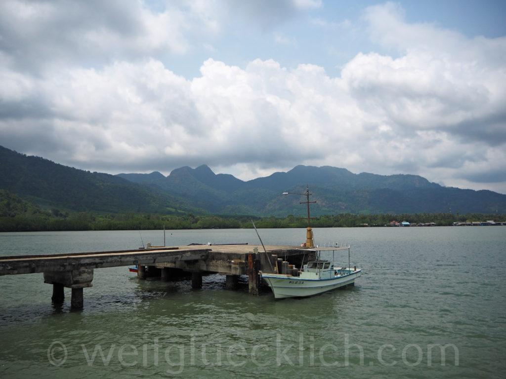 Weltreise Thailand Koh Chang Salak Phet Baan Salak Petch Pier