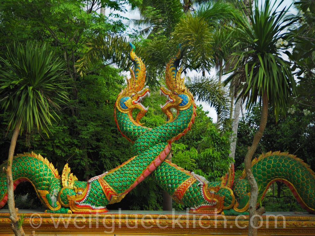 Weltreise Thailand Koh Chang Wat Salak Phet Tempel