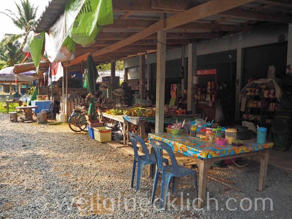 Weltreise Thailand Koh Chang Wat Salak Phet Tempel Garkueche