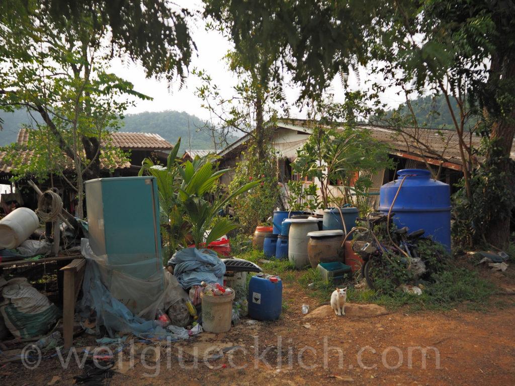 Weltreise Thailand Koh Chang Salak Khok Fischerdorf fisherman village