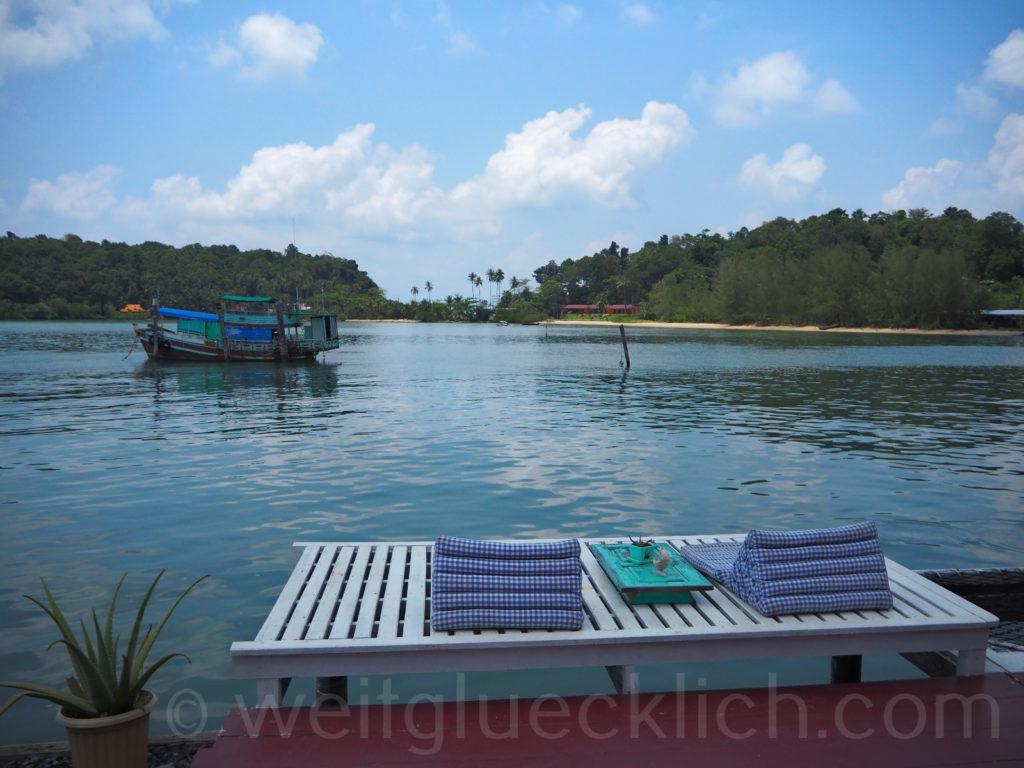 Weltreise Thailand Koh Chang Bang Bao Paradise Homestay