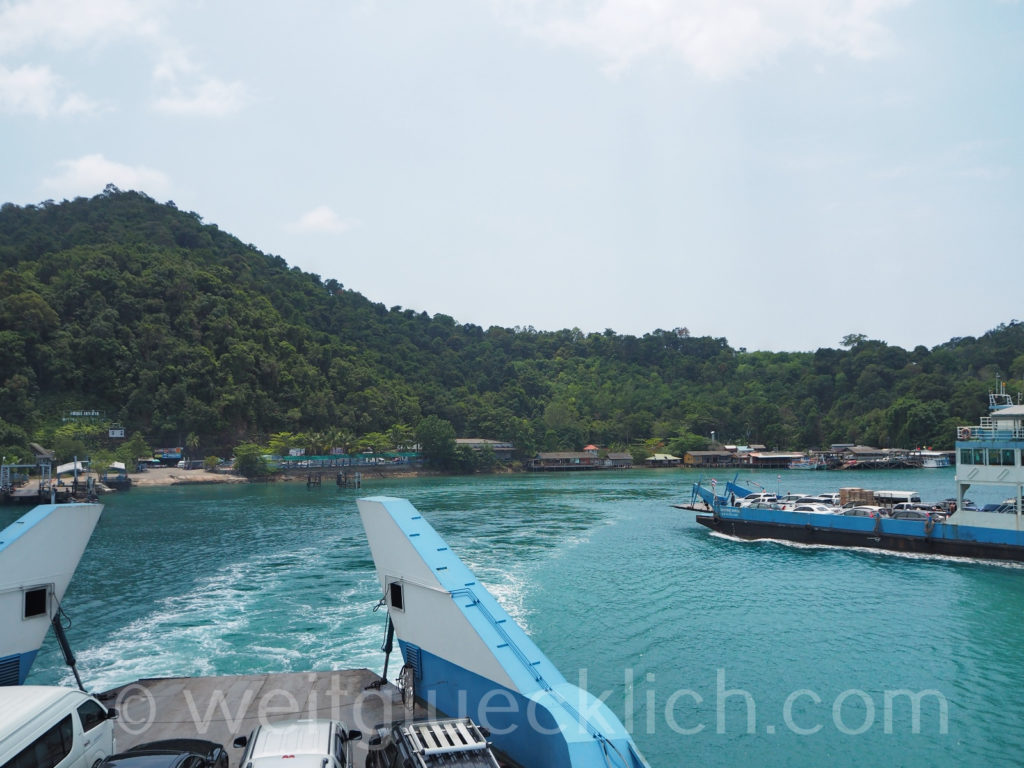 Weltreise Thailand Koh Chang Ferry Pier