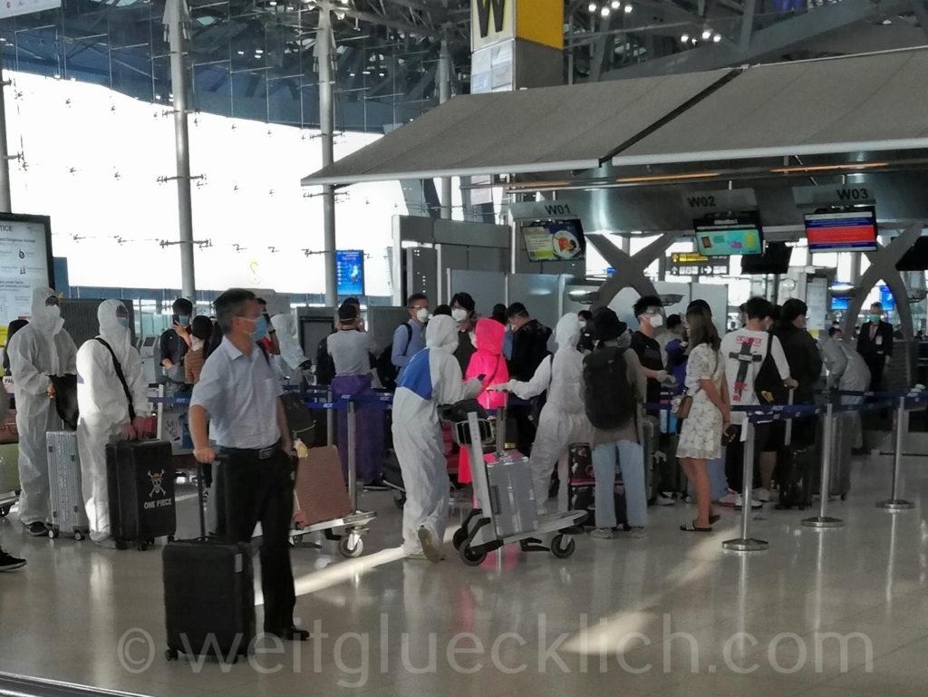 Weltreise Thailand Bangkok Airport Flughafen