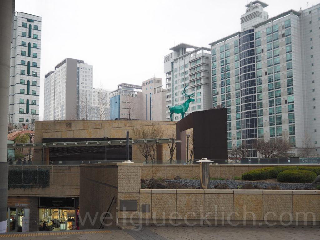 Weltreise 2020 Suedkorea Seoul Hongdae Hapjeong Shopping Mall