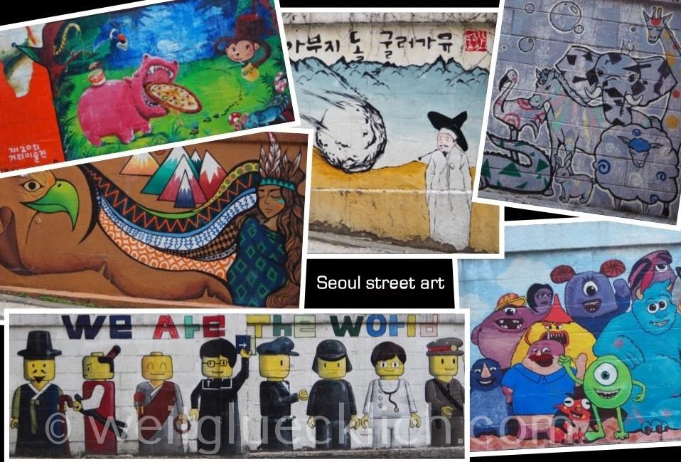 Weltreise 2020 Suedkorea Seoul Hongdae Univiertel Hongik University street art