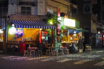 Weltreise 2020 Suedkorea Seoul Hongdae by night