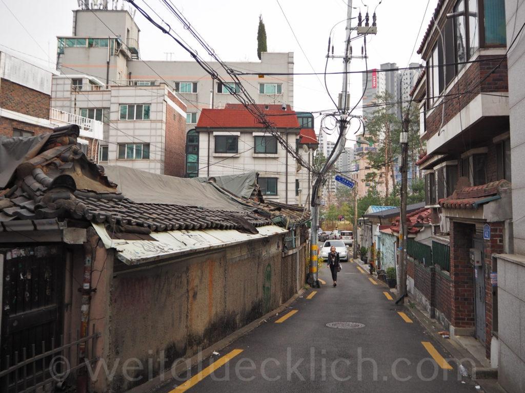 Weltreise 2020 Suedkorea Seoul Hongdae Hanok