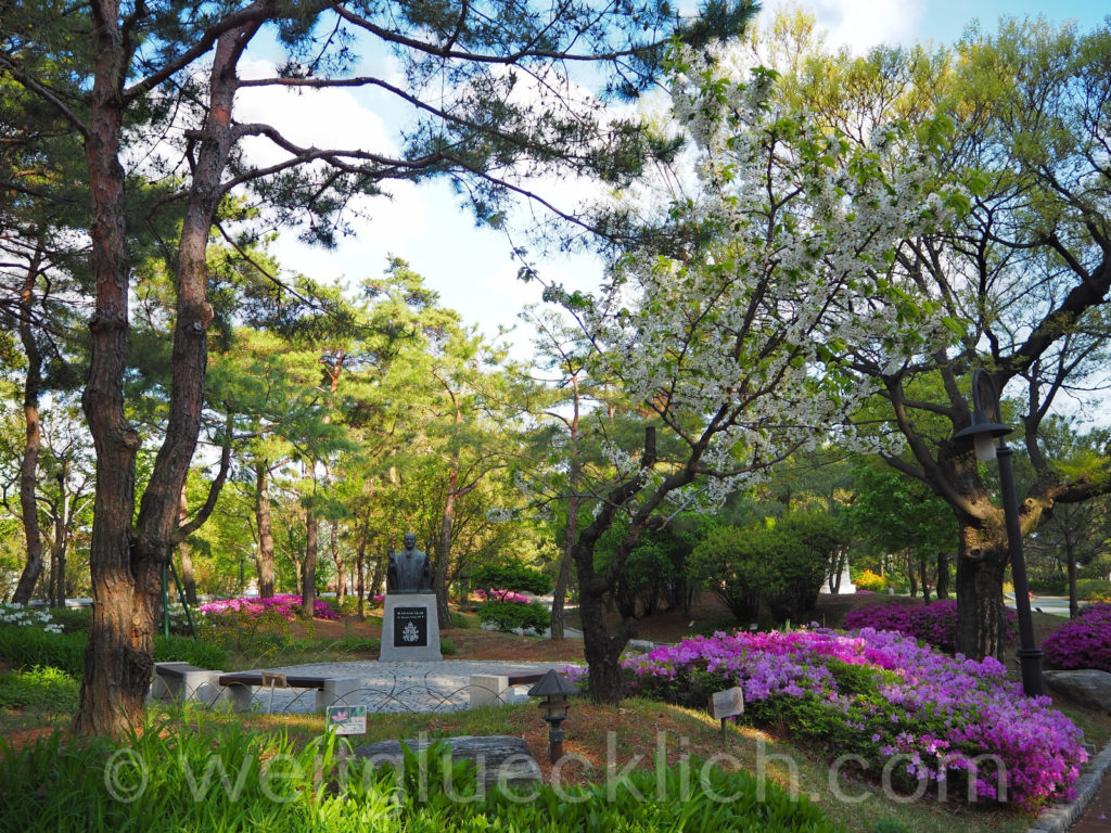Weltreise 2020 Suedkorea Seoul Mapo-gu Jeoldusan Martyrs' Shrine