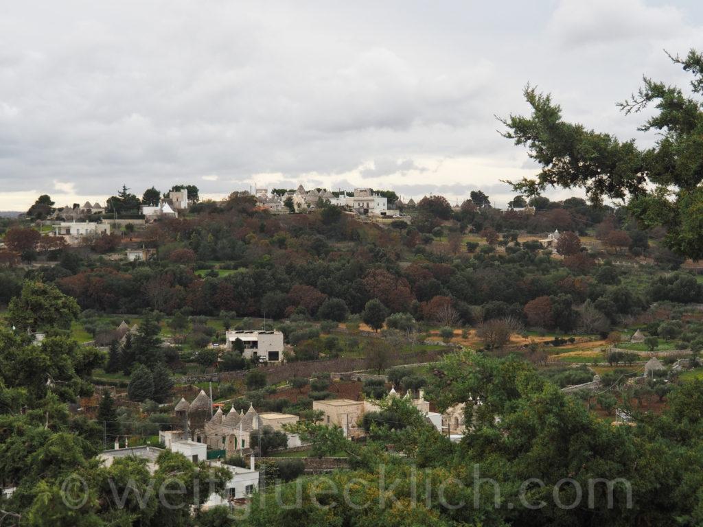 Weltreise 2020 Italien Apulien Valle d'ItriaTrulli Locorotondo